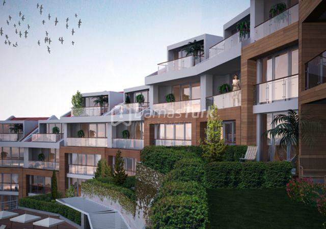 مجمع استثماري جاهز للسكن في إسطنبول الأوروبية في منطقة بيوك شكمجة DS272    داماس تورك العقارية 01