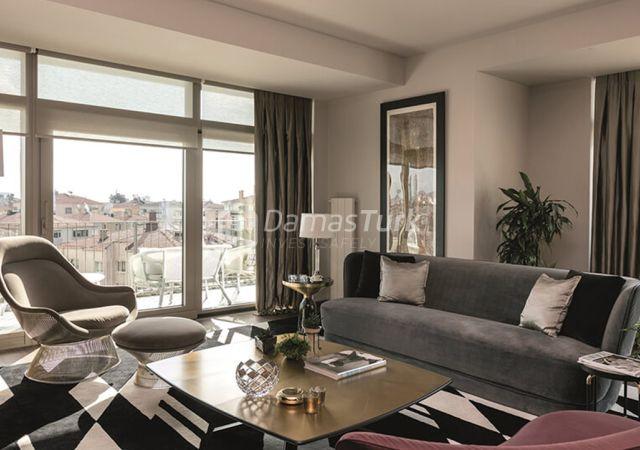 مجمع شقق استثماري جاهز للسكن بإطلالة بحرية رائعة  في اسطنبول الأوروبية منطقة شيشلي DS293  || شركة داماس تورك العقارية 06