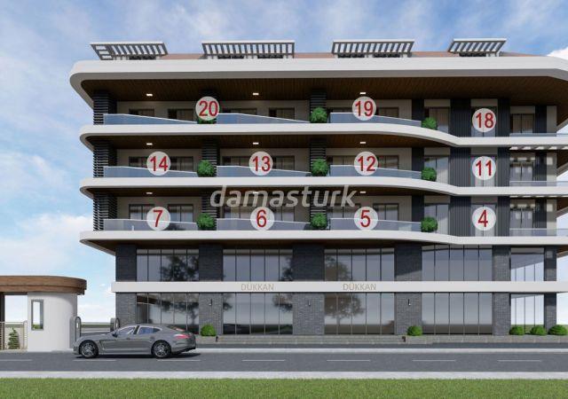 شقق للبيع في أنطاليا - تركيا - المجمع  DN083      شركة داماس تورك العقارية  05
