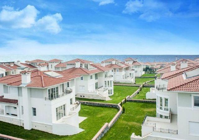 Villas for sale in Turkey - Istanbul - the complex DS358 || damasturk Real Estate 01