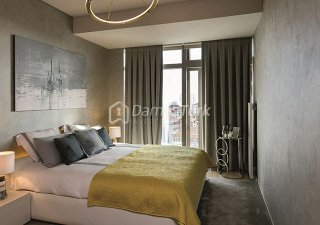 مجمع شقق استثماري جاهز للسكن بإطلالة بحرية رائعة  في اسطنبول الأوروبية منطقة شيشلي DS293  || شركة داماس تورك العقارية 05