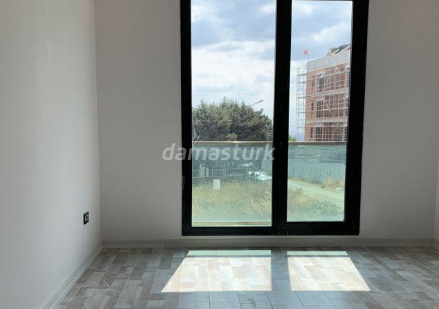 مجمع جاهز للسكن بنظام الشقق الذكية بإطلالة بحرية رائعة في اسطنبول الأوروبية منطقة بيليك دوزو || شركة داماس تورك العقارية 05