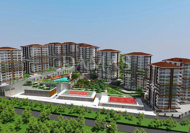 منازل للبيع في طرابزون - مجمع داماس 406 في طرابزون - صورة خارجية 01