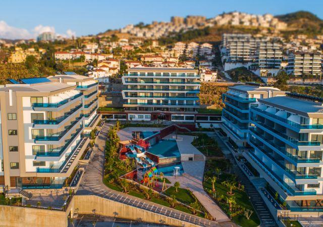 شقق ذكية للبيع في أنطاليا تركيا - المجمع  DN020 || شركة داماس تورك العقارية  01
