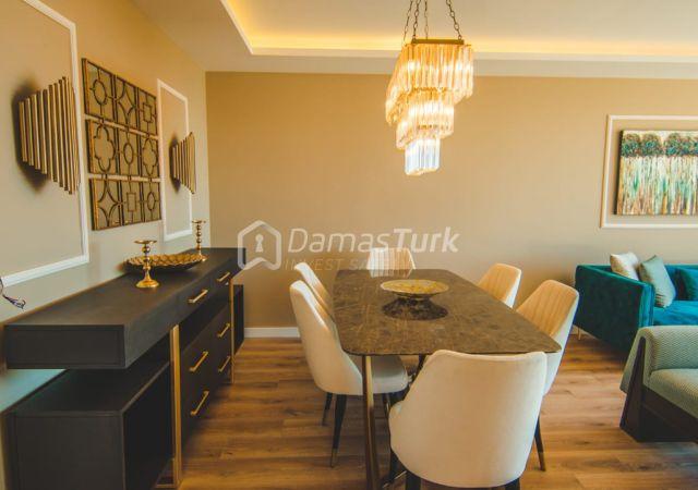 مجمع شقق استثماري جاهز للسكن بإطلالة بحرية رائعة في اسطنبول الأوروبية منطقة بيوك شكمجة DS283  || داماس تورك العقارية 02