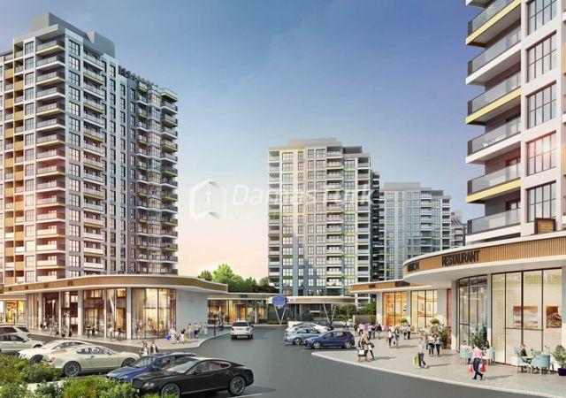 مجمع شقق جاهز للسكن في إسطنبول الأوروبية في منطقة باشاك شهير - DS045    داماس تورك العقارية 02