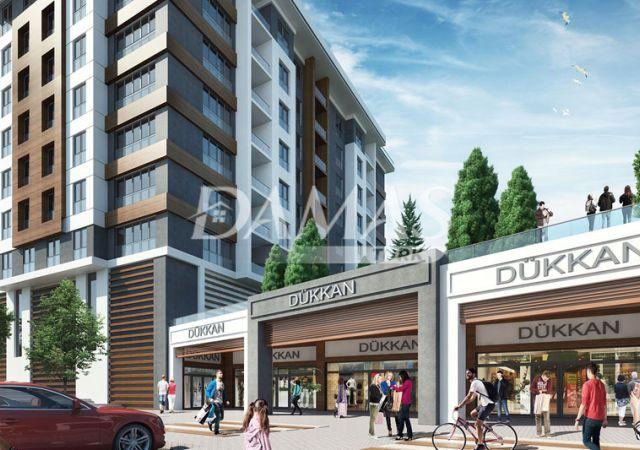 مجمع شقق قيد الإنشاء في إسطنبول في منطقة أفجلار. D-098 || شركة داماس تورك العقارية 03