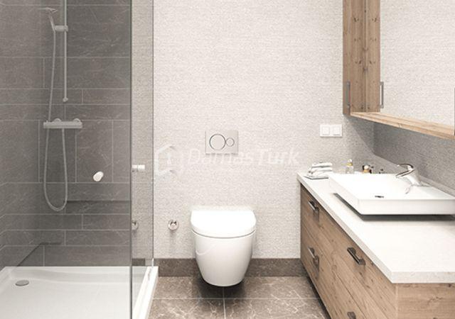 مجمع شقق استثماري جاهز للسكن وبالتقسيط  في اسطنبول الأوروبية منطقة زيتون بورنو DS282     داماس تورك العقارية 04