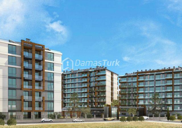 مجمع شقق جاهز للسكن بإطلالة بحرية بالتقسيط المريح  في اسطنبول الأوروبية منطقة بيوك شكمجة DS288     شركة داماس تورك العقارية 03