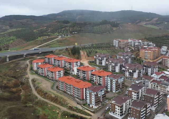 Appartements à vendre à Bursa Turquie - complexe DB032    damasturk Real Estate Company 01