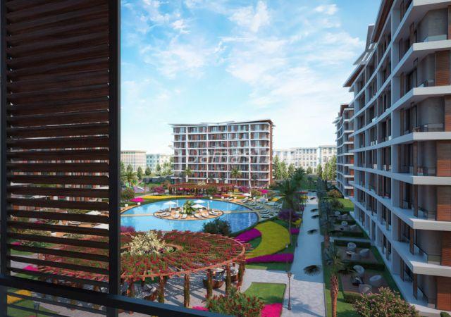 مجمع شقق جاهز للسكن بإطلالة بحرية بالتقسيط المريح  في اسطنبول الأوروبية منطقة منطقة بيليك دوزو DS286  || شركة داماس تورك العقارية 03