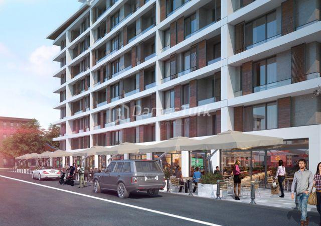 مجمع شقق جاهز للسكن بإطلالة بحرية بالتقسيط المريح  في اسطنبول الأوروبية منطقة منطقة بيليك دوزو DS286  || شركة داماس تورك العقارية 04
