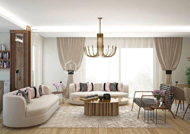 مجمع شقق ومحلات تجارية جاهز للسكن في اسطنبول الأوروبية منطقة بيليك دوزو DS284  || شركة داماس تورك العقارية 04