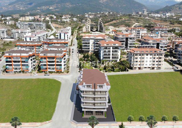 شقق للبيع في أنطاليا - تركيا - المجمع  DN083      شركة داماس تورك العقارية  02