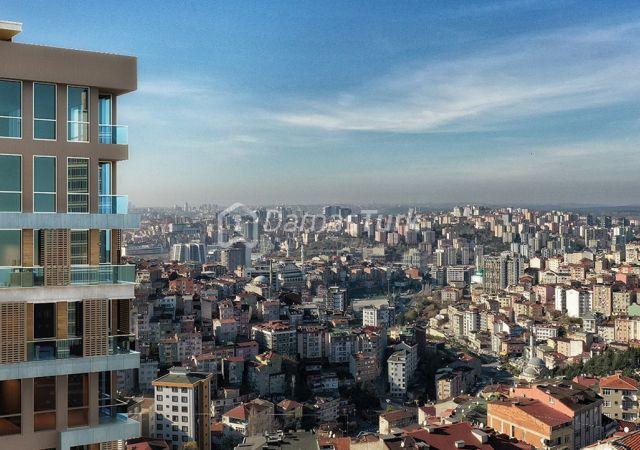 مجمع شقق ومحلات تجارية قيد الإنشاء بالتقسيط المريح  في اسطنبول الأوروبية منطقة منطقة سارير مسلك DS285     شركة داماس تورك العقارية 03