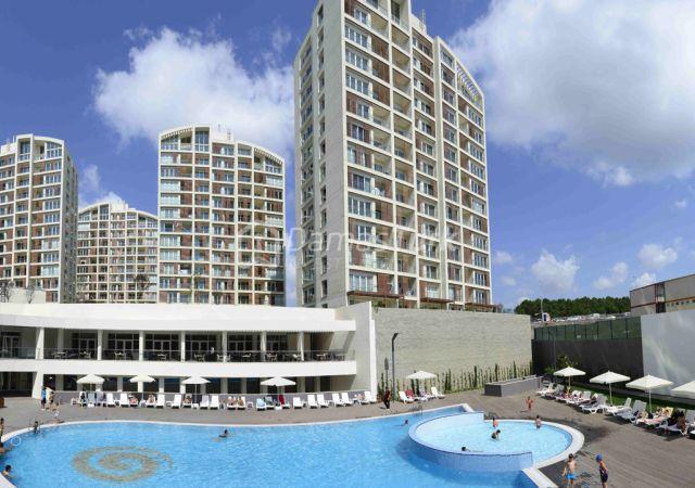 مجمع شقق جاهز للسكن بإطلالة خضراء في اسطنبول الآسوية منطقة سنجاك تبه DS290  || شركة داماس تورك العقارية 03