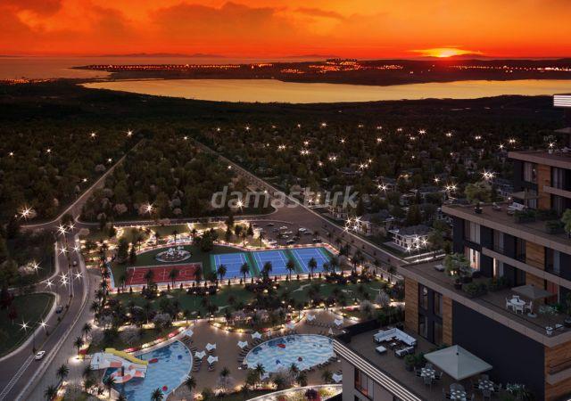 مجمع شقق استثماري فاخر بإطلالة بحرية رائعة  في اسطنبول الأوروبية منطقة بيوك شكمجة DS296  || شركة داماس تورك العقارية 03