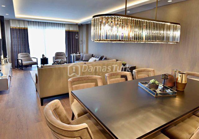 مجمع شقق جاهز للسكن بإطلالة بحرية بالتقسيط المريح  في اسطنبول الأوروبية منطقة بيوك شكمجة DS288     شركة داماس تورك العقارية 07