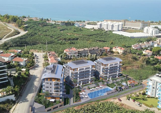 شقق للبيع في أنطاليا تركيا - المجمع  DN023    شركة داماس تورك العقارية  02