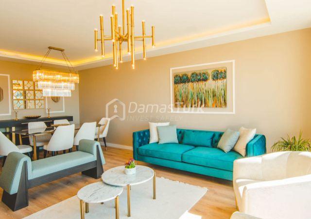 مجمع شقق استثماري جاهز للسكن بإطلالة بحرية رائعة في اسطنبول الأوروبية منطقة بيوك شكمجة DS283  || داماس تورك العقارية 03