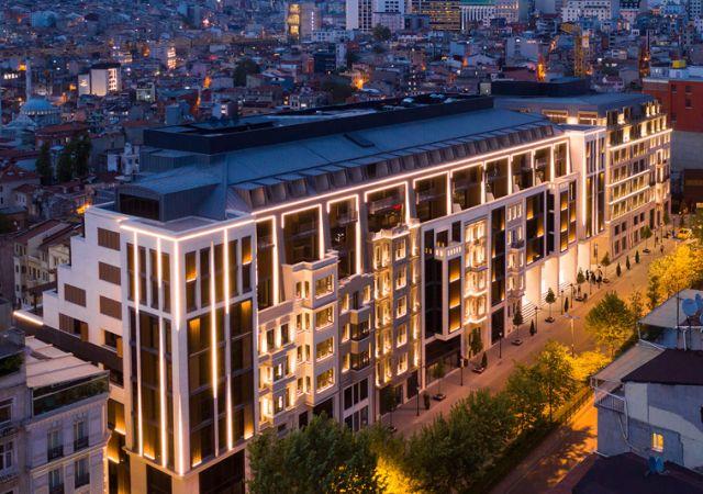 مجمع داماس 297 في اسطنبول - صورة خارجية  01