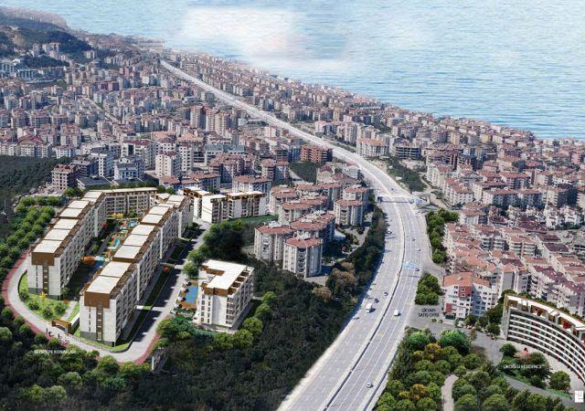 شقق للبيع في بورصة تركيا - المجمع DB040     شركة داماس تورك العقارية 01