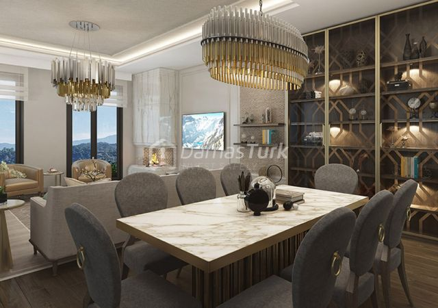Under construction complex with installment plan in istanbul , basak sehir DS270 || damas.net 02