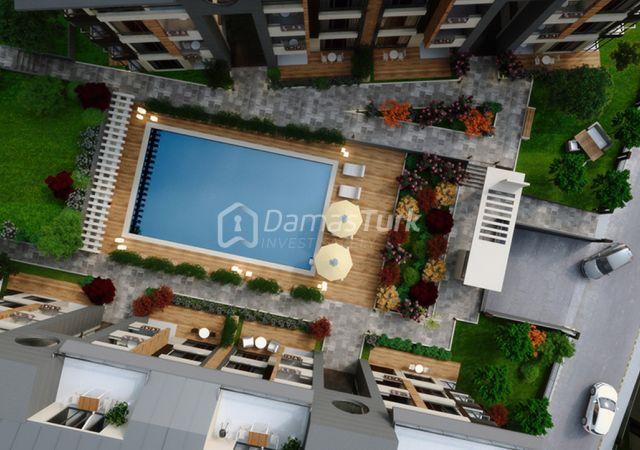مجمع شقق استثماري  جاهز للسكن مع إطلالة بحرية  في اسطنبول الأوروبية منطقة بيوك شكمجة . DS280    داماس تورك العقارية 06