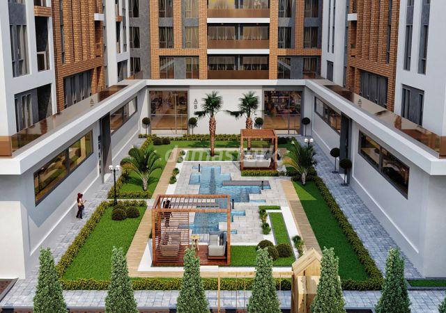 مجمع شقق فاخر جاهز للسكن في اسطنبول الأوروبية منطقة بيليك دووز     داماس تورك العقارية 03