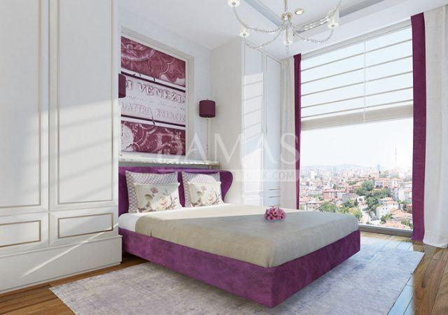 أسعار العقارات في تركيا - مجمع داماس 181 في إسطنبول - صورة داخلية 05