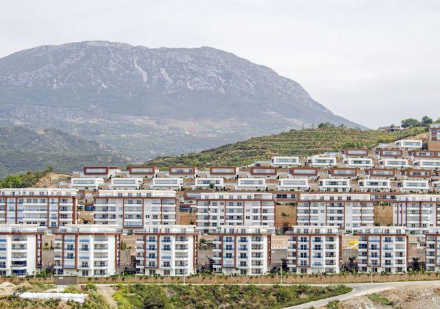 شقق للبيع في أنطاليا - تركيا - المجمع  DN049    شركة داماس تورك العقارية  01