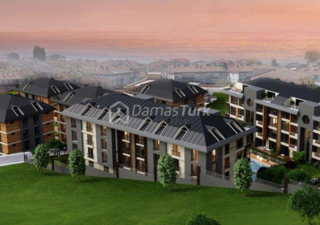 مجمع شقق استثماري  جاهز للسكن مع إطلالة بحرية  في اسطنبول الأوروبية منطقة بيوك شكمجة . DS280    داماس تورك العقارية 05