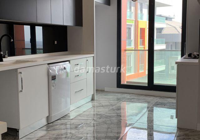 مجمع جاهز للسكن بنظام الشقق الذكية بإطلالة بحرية رائعة في اسطنبول الأوروبية منطقة بيليك دوزو || شركة داماس تورك العقارية 08