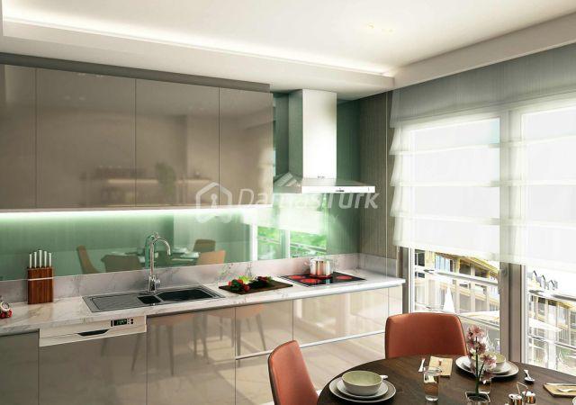 مجمع استثماري فاخر جاهز للسكن في اسطنبول الأوروبية منطقة بكركوي . DS277 || داماس تورك العقارية 05