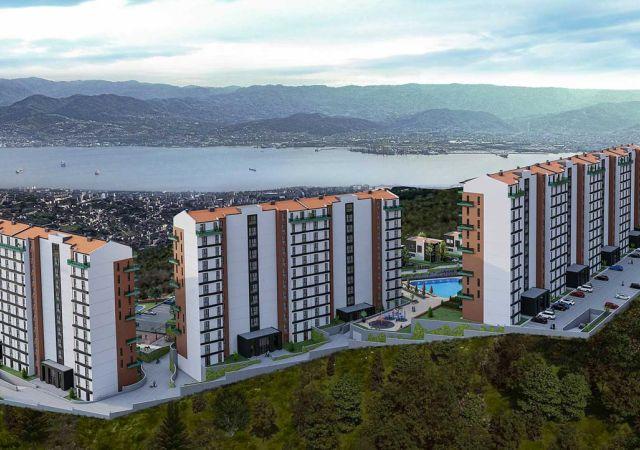 شقق وفلل للبيع في تركيا - كوجالي - المجمع  DK012 || شركة داماس تورك العقارية  11