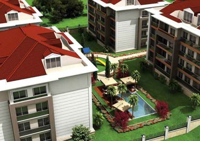 مجمع شقق جاهز للسكن مع إطلالة بحرية رائعة في اسطنبول الأوروبية منطقة بيوك شكمجة DS281  || داماس تورك العقارية 01
