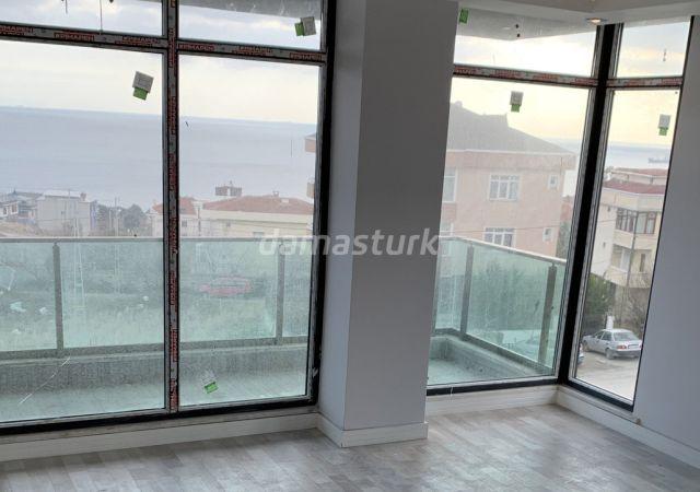 مجمع جاهز للسكن بنظام الشقق الذكية بإطلالة بحرية رائعة في اسطنبول الأوروبية منطقة بيليك دوزو || شركة داماس تورك العقارية 03