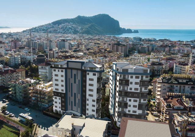 Apartments for sale in Antalya - Turkey - Complex DN077    damasturk Real Estate Company 01