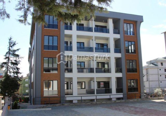 مجمع شقق ومحلات استثماري جاهز للسكن في إسطنبول الأوروبية منطقة بيوك شكمجة. DS274 || داماس تورك العقارية 03