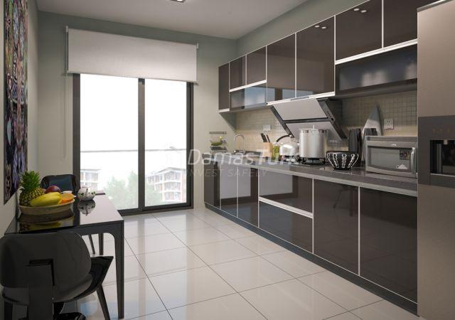 مجمع شقق جاهز للسكن بإطلالة بحرية بالتقسيط المريح  في اسطنبول الأوروبية منطقة منطقة بيليك دوزو DS286  || شركة داماس تورك العقارية 01