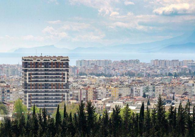 شقق للبيع في أنطاليا تركيا - المجمع  DN024 || شركة داماس تورك العقارية  01