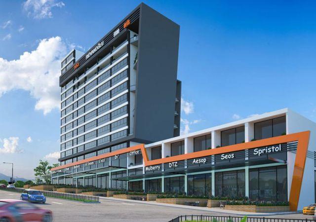 Offices for sale in Turkey - Bursa - the complex DB033 || damasturk Real Estate Company 01
