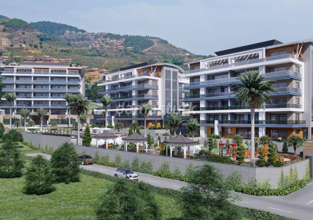 شقق للبيع في أنطاليا تركيا - المجمع  DN023    شركة داماس تورك العقارية  03