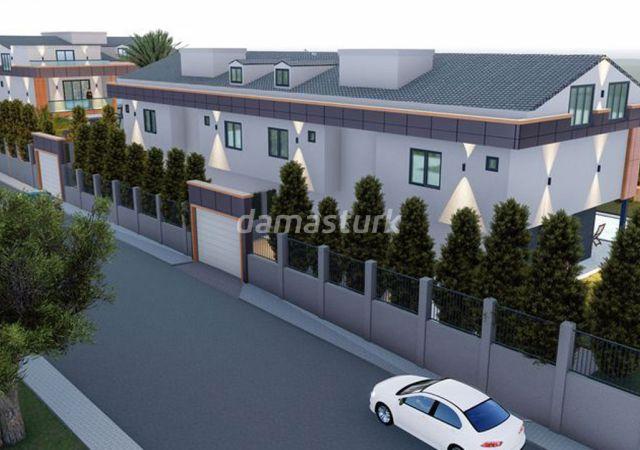 فلل للبيع في تركيا - المجمع  DS328 || شركة داماس تورك العقارية  06