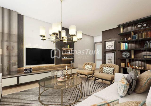 مجمع شقق جاهز للسكن في إسطنبول الأوروبية في منطقة باشاك شهير - DS045    داماس تورك العقارية 01