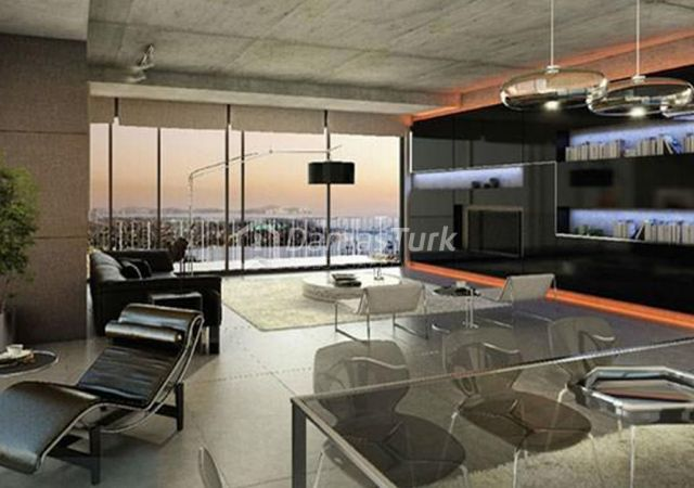 مجمع شقق استثماري جاهز للسكن بإطلالة بحرية رائعة  في اسطنبول الأوروبية منطقة شيشلي DS293  || شركة داماس تورك العقارية 03