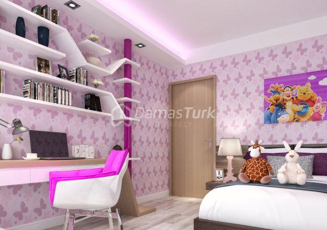 مجمع شقق جاهز للسكن بإطلالة بحرية بالتقسيط المريح  في اسطنبول الأوروبية منطقة منطقة بيليك دوزو DS286  || شركة داماس تورك العقارية 02