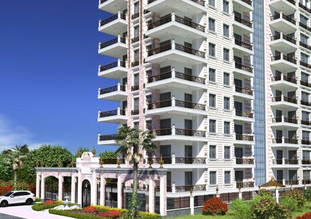 Apartments for sale in Antalya - Turkey - Complex DN080 || damasturk Real Estate Company 01