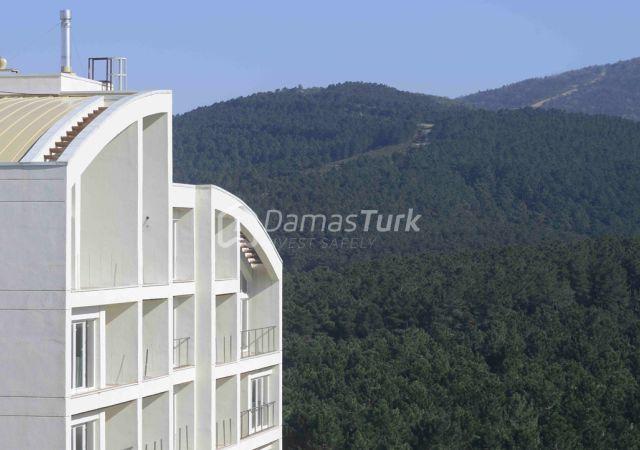 مجمع شقق جاهز للسكن بإطلالة خضراء في اسطنبول الآسوية منطقة سنجاك تبه DS290  || شركة داماس تورك العقارية 02