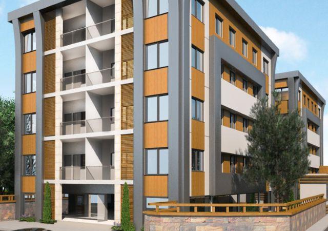 مجمع شقق ومحلات استثماري جاهز للسكن في إسطنبول الأوروبية منطقة بيوك شكمجة. DS274 || داماس تورك العقارية 01